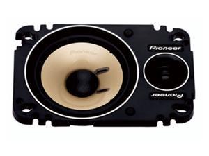 """Pioneer 4"""" x 6"""" 150 Watts Peak Power 2-Way Component Plate Speaker"""