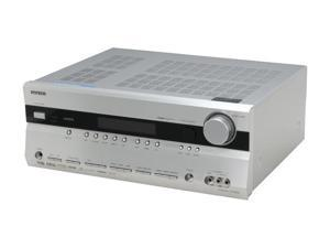 ONKYO TX-SR606 7.1-Channel Silver Home Theater Receiver