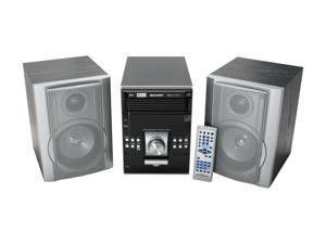 SHARP CD/MP3/Radio 5-Disc Changer Shelf System XL-UH242