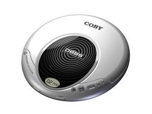 COBY Slim Personal CD Player CXCD114SVR