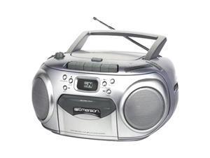 Emerson Radio/CD/Cassette Player/Recorder Boombox PD6548SL