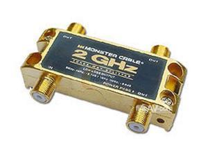 Monster Cable TGHZ-3RF 3 Way 2 GHz Low-Loss RF Splitters for TV & Satellite