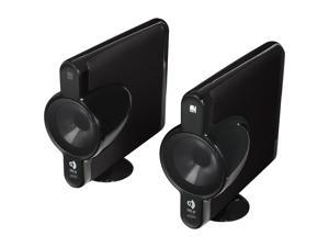 KEF MODEL3BL Pair Two-Way Closed Box Satellite Speaker Pair