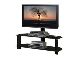 "TECH CRAFT TRK50B Up to 52"" Black 48"" Wide TV Stand"