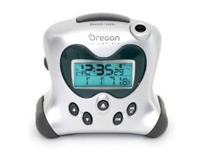 Oregon Scientific RM313PNA Hip & Cool Projection Clock with Temperature - Silver