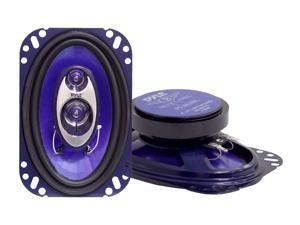 "PYLE PL-463BL 4"" x 6"" 240 Watts Peak Power 3-Way Speaker"