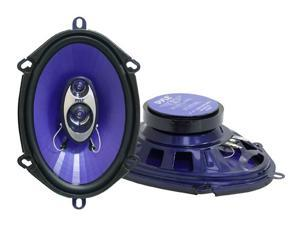 "PYLE PL573BL 5"" x 7"" 300 Watts Peak Power 3-Way Speaker"