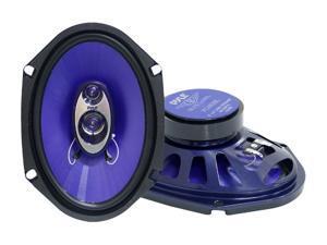 """PYLE PL683BL Blue Label Speakers (6"""" x 8"""", 3 Way)"""