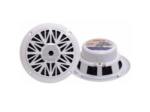 "Pyle 5.25"" 150 Watts 2-Way White Marine Speaker"