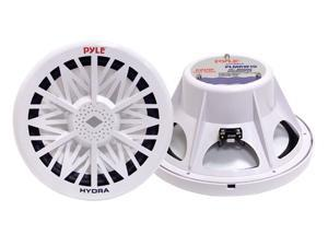 "Polk Audio PLMRW10 10"" 500W Single Voice Coil White Marine Subwoofer"