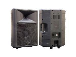 "PYLE PPHP-1259 500 Watt 12"" Two-Way Plastic Molded Speaker Cabinet Each"