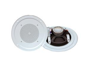 PyleHome PDICS54 Speaker - 2-way - White