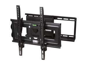 "SIIG CE-MT0512-S1 23""-42"" Full-Motion TV Wall Mount LED & LCD HDTV,up to VESA 400x400 max load 100 lbs with Bubble level,Compatible with Samsung, Vizio, Sony, Panasonic, LG, and Toshiba TV"