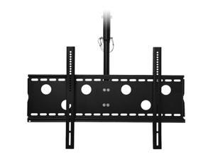 "SIIG CE-MT0T12-S1 Black 32"" - 60"" Universal Tilting Flat-Panel TV Ceiling Mount - Single"