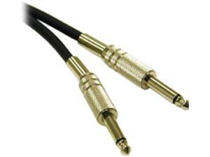 C2G Model 40063 1.5 ft. Pro-Audio 1/4in Male to 1/4in Male Cable M-M