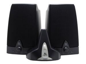 Acoustic Research AW-871 2 CH 900MHz Wireless Stereo Speakers Pair