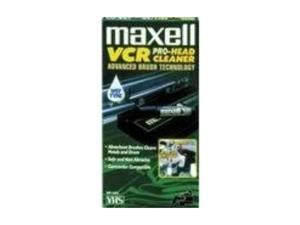 maxell 290058 Cleaning VHS Tape Cartridge