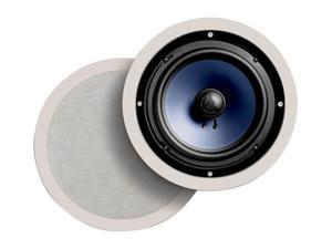 "Polk Audio RC80i White Round 8"" High Performance In-Ceiling Speaker Pair"