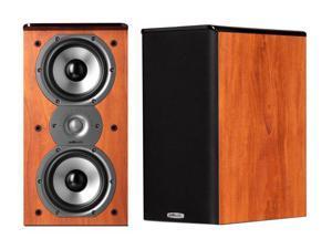 Polk Audio TSi200 Cherry High Performance Bookshelf Loudspeaker Pair