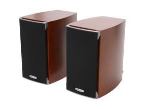 Polk Audio RTi A1 Cherry High Performance Bookshelf Speaker Pair, 5.25 -inch driver and a 1-inch dome tweeter