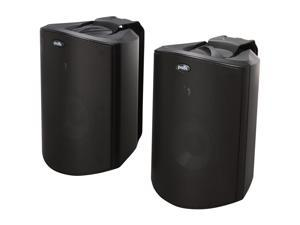 Polk Audio Atrium5 Compact Indoor/Outdoor Speaker Black Pair