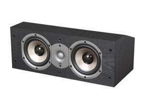 Polk Audio New Monitor 15C Two-Way Center Channel Loudspeaker (Black) Single