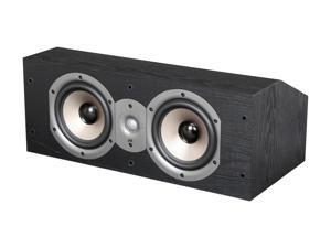 Polk Audio Monitor Series New Monitor 25C Two-Way Center Channel Loudspeaker (Black) Single