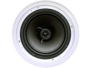 "New Wave Audio Contractor IC-8S 8½"" 2-way 8 ohm Coaxial Flush Ceiling Mount Speaker Pair"