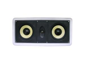 """New Wave Audio CC-602KV Dual 6.5"""" 2-way 8 ohm Flush Mount Left/Right, Center Channel In-Wall Speaker Single"""