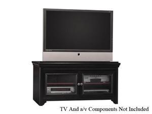 "BUSH FURNITURE VS53936-03 Up to 36"" Conventional TV, Up to 60"" Flat Panel TV Black TV Stand"