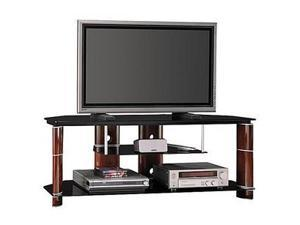 "BUSH FURNITURE VS11560-03 Up to 60"" Rosebud Cherry Segments TV Stand"