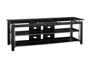 "BUSH FURNITURE VS44850-03 Up to 60"" Black TV Stand"