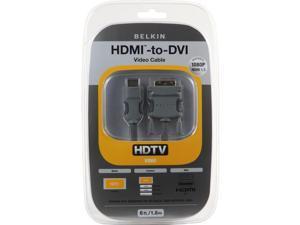 BELKIN PURE AV AM22402-12 12 feet HDMI to DVI Video Cable M-M