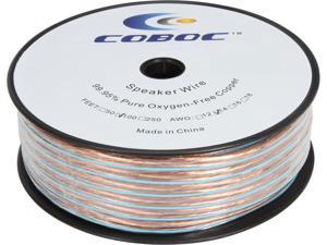 Coboc Model SPW-2C14-300-CL 100ft 14AWG 2-Conductor Enhanced Loud Oxygen-Free Copper OFC Speaker Wire Cable