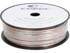 Coboc Model SPW-2C14-300-CL 300ft 14AWG 2-Conductor Enhanced Loud Oxygen-Free Copper OFC Speaker Wire Cable