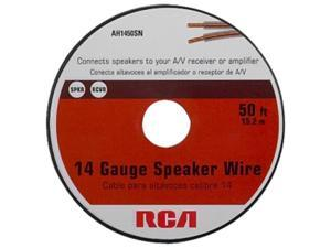 Audiovox Model AH1450SN 50 ft 14 GAUGE SPEAKER WIRE RCA AUDIO HOOKUP