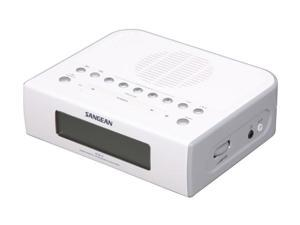 Sangean AM/FM Digital Clock Radio RCR-5