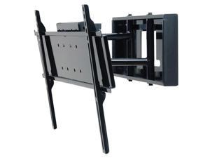 "Peerless SP850-UNLP Black Universal Pull-out Swivel Wall Mount for 32"" to 65"" Flat Panel Screens"