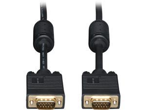 Tripp Lite P502-020 20 ft SVGA / VGA Monitor Gold Cable HD15 Male / Male