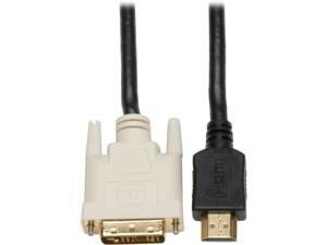 Tripp Lite P566-003 3 Feet HDMI to DVI M/M Gold Digital Video Cable
