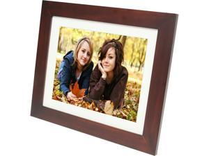"PANDIGITAL PANR120T 12"" Digital Photo Frame, Touch Screen, 6in1 Card Reader"