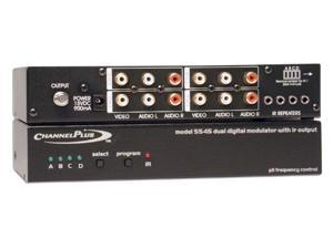 Channel Plus - 4 Channel Video Modulator w/ IR (5545)