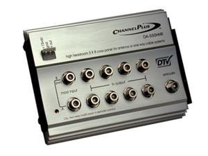 Channel Plus - High Headroom Video Distribution Amplifier w/ 12-Volt IR (DA-550HHR)