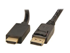 Link Depot DP-6-HDMI 6 ft. DisplayPort to HDMI Cable