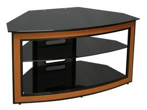 "Bell'O AVSC-2121 Up to 46"" Cherry Wood Corner-Fit Audio/Video Furniture System"