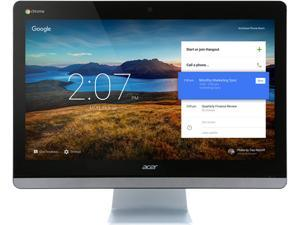 "Acer All-in-One Computer Chromebase 24 CA24V-CT Celeron 3215U (1.70 GHz) 4 GB DDR3L 16 GB SSD 23.8"" Touchscreen Google Chrome OS"