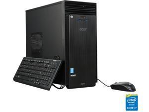 Acer Desktop Computer Aspire T ATC-705-UC51 Intel Core i7 4th Gen 4790 (3.6 GHz) 12 GB DDR3 1 TB HDD Intel HD Graphics 4600 Windows 8.1