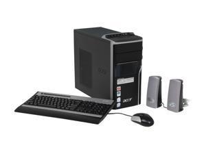 Acer Desktop PC Aspire AM5620-E5203A Core 2 Quad Q6600 (2.40GHz) 4GB DDR2 750GB HDD Windows Vista Home Premium (English/French)