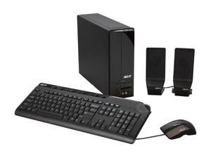 Acer Desktop PC Aspire AX3200-U3600A Phenom X3 8400 (2.1GHz) 4GB DDR2 320GB HDD Windows Vista Home Premium 64-bit