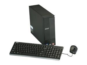 Acer AX1430-UR11P (PT.SHVP2.005) Desktop PC AMD Dual-Core Processor 4GB DDR3 500GB HDD Windows 7 Home Premium 64-Bit